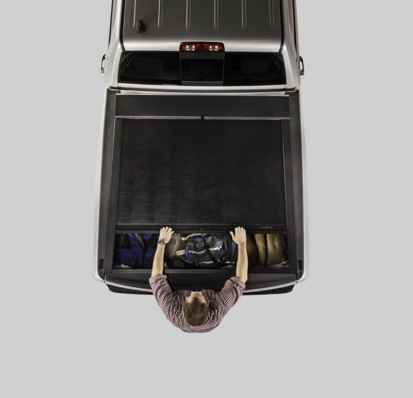 17 Roll-N-Lock MSeries Tonneau Cover Closing image