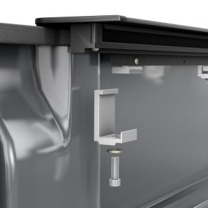 21 Roll-N-Lock MSeries Tonneau Cover Clampon Installation image