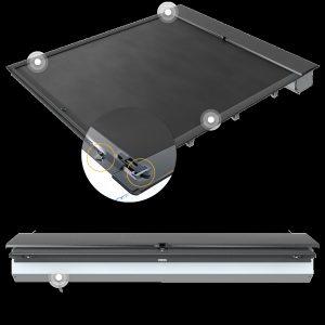 23 Roll-N-Lock MSeries Tonneau Cover Builtin Tailgate Lock image
