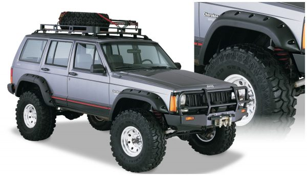 BW-10911-07 Bushwacker Cut-Out Fender Flares set of 4 image 1
