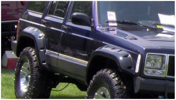 BW-10911-07 Bushwacker Cut-Out Fender Flares set of 4 image 11