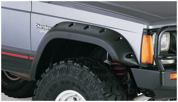 BW-10911-07 Bushwacker Cut-Out Fender Flares set of 4 image 2