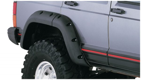 BW-10911-07 Bushwacker Cut-Out Fender Flares set of 4 image 3