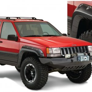 BW-10916-07 Bushwacker Cut-Out Fender Flares set of 4 image 1