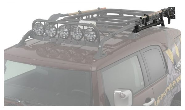 3840 Toyota FJ Cruiser Off-Road Jack Mount – OEM Rack image 1