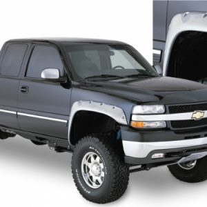 BW-40051-02 Bushwacker Cut-Out Fender Flares Front Pair