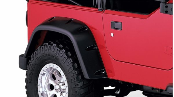 BW-10030-07 Bushwacker Pocket Style Fender Flares rear pair