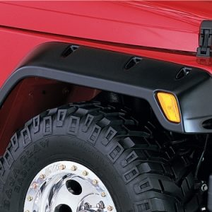 BW-10043-07 Bushwacker Pocket Style Fender Flare front pair