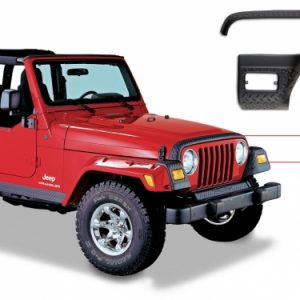 BW-14005 Jeep TJ Wrangler Trail Armor Hood Stone Guard Set