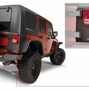 BW-14010 Jeep Trail Armor Rear Corner Pair