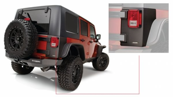 BW-14010 Jeep Trail Armor Rear Corner Pair