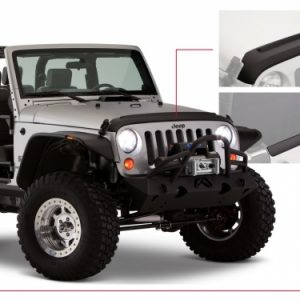 BW-14013 Jeep Trail Armour Hood & Tailgate Protector Set